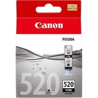 Canon Pixma Inkjet Cartridge, Pigment Black, PGI-520