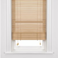 John Lewis Wood Venetian Blind, Natural, 35mm