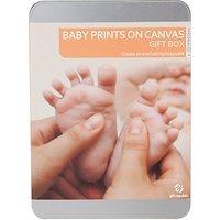 Baby Prints Canvas Gift Tin