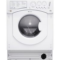 Hotpoint BHWD129 Aquarius Integrated Washer Dryer, White