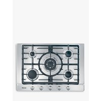 Miele KM2032 Gas Hob, Stainless Steel