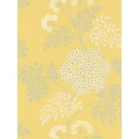 Sanderson Cow Parsley Wallpaper, DOPWCO105, Chinese Yellow