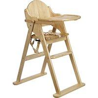 East Coast Folding Wood Highchair