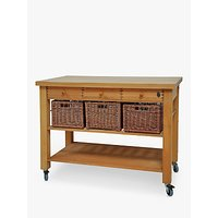 Eddingtons Lambourn Wooden Butcher's Trolley, 120cm
