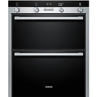 Siemens HB55NB550B Double Built-Under Electric Oven, Stainless Steel