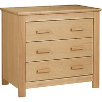 John Lewis Lasko Chest of Drawers, Oak