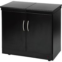 Hostess Trolley, HL6236BL, Black