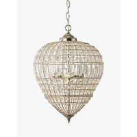 John Lewis and Partners Dante Grande Ceiling Light, Clear