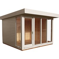 Crane 3 x 3m Garden Studio, FSC-Certified (Scandinavian Redwood)