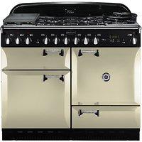 Rangemaster Elan 110 Dual Fuel Cooker, Cream