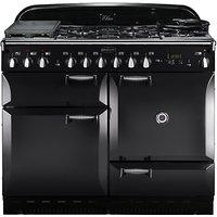 Rangemaster Elan 110 Dual Fuel Cooker, Black