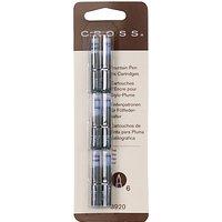Cross Ink Cartridges, Pack of 6