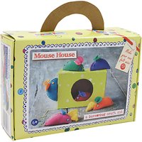 Buttonbag Mouse House Craft Kit