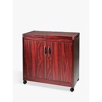 Hostess Trolley, HL6232, Mahogany