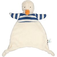 Jellycat Bredita Duck Soother Soft Toy, One Size, Blue/Cream
