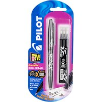 Pilot Frixion Ballpoint Pen and Refills, Black
