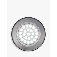 John Lewis Cool LED Circular Flat Under Cabinet Lights, Set of 2