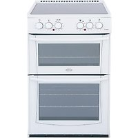 Belling E552W Enfield Electric Cooker, White