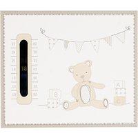 John Lewis ABC Bear Nursery Thermometer