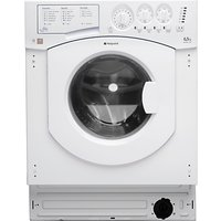 Hotpoint BHWM129 Integrated Washing Machine, 7kg Load, A++ Energy Rating, 1200rpm Spin, White
