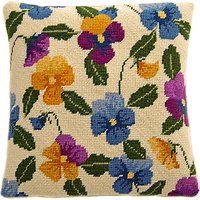 Cleopatra's Needle Pansy Pillow Tapestry Kit