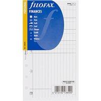Filofax Personal Inserts, Finances