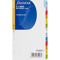 Filofax Personal Inserts, Multi A-Z Index
