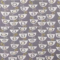 John Lewis Seedheads Furnishing Fabric, Steel