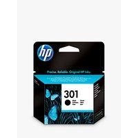 HP 301 Inkjet Cartridge, Black, CH561EE