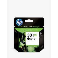 HP 301XL Inkjet Cartridge, Black, CH563EE