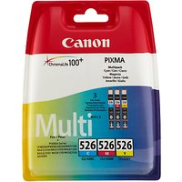 Canon CL-526 Colour Inkjet Cartridge Multipack