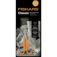 Fiskars Classic Embroidery Scissors, 10cm
