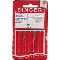 Singer Sewing Machine Assorted Twin Needles, 2025