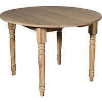 Neptune Sheldrake Round Extending Dining Table 110-165cm
