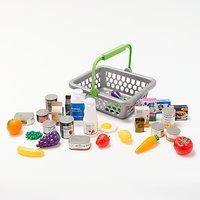 John Lewis & Partners Basket & Play Food