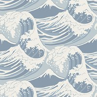 Cole & Son Great Wave Wallpaper, 89/2007