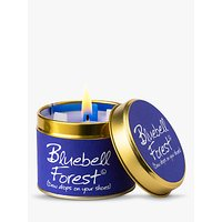Lily-flame Bluebell Forest Scented Candle Tin