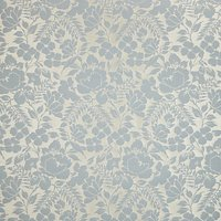Wild Woven Floral Garden Furnishing Fabric, Duck Egg