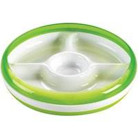OXO Tot Divided Plate, Green