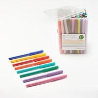 John Lewis Colouring Pens in a Tub, Pack of 100