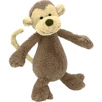 Jellycat Bashful Monkey Soft Toy, Small