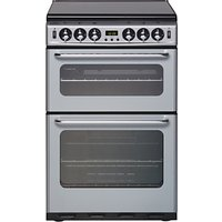 New World 550TSIDOM Gas Cooker, Silver