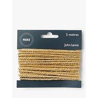 John Lewis Cord, Gold, 5m