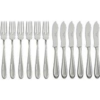 Sophie Conran for Arthur Price Rivelin Fish Knife & Fork Set, 12 Piece