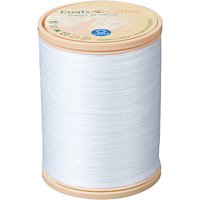 Coats Craft Cotton, 1000m, White 1716