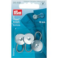 Prym Flexi Buttons, Pack of 3, 19mm