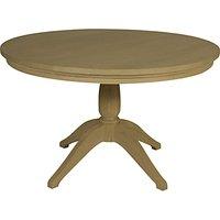 Neptune Henley 120cm Round Pedestal Dining Table, Oak
