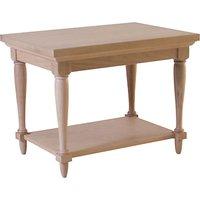 Neptune Henley Rectangular Lamp Table, Oak