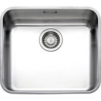 Franke Largo LAX 110 45 Undermounted Single Bowl Kitchen Sink, Stainless Steel