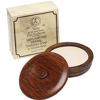 Taylor of Old Bond Street Sandalwood Shaving Soap with Wooden Bowl, 100g